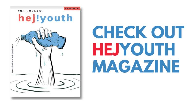 HEJYouth Magazin zum Thema Plastik