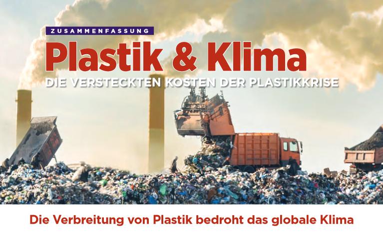 Plastik und Klima: Die versteckten Kosten der Plastikkrise (Dt./Engl.)