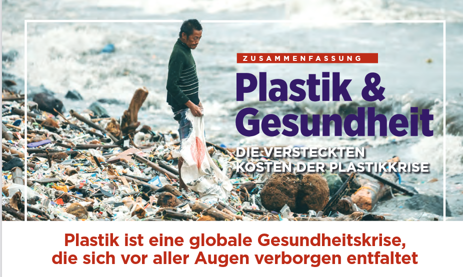 Plastik und Gesundheit: Die versteckten Kosten der Plastikkrise (Dt./Engl.)